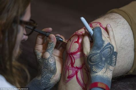 tattoo london mol tattoo fans show off their weird and wonderful creations