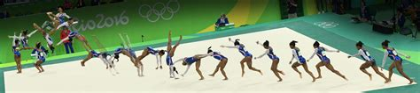 gymnastics layout half twist frame by frame moves that made simone biles unbeatable