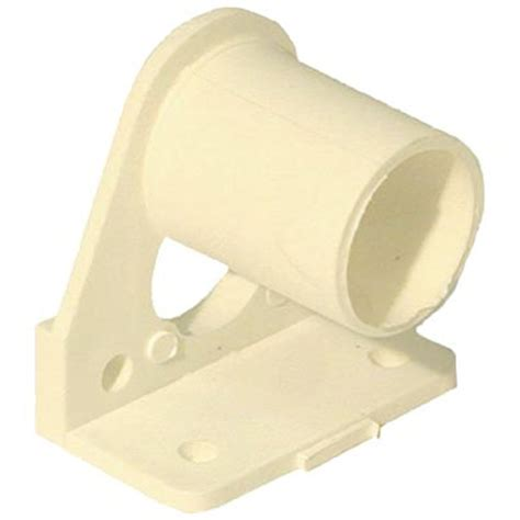 ivory curtain rod smart home products ivory curtain rod muslin bracket 2 pack
