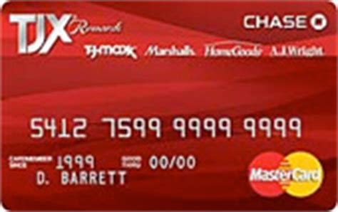 Can You Use Tjmaxx Gift Card At Marshalls - tjx rewards credit card review creditshout