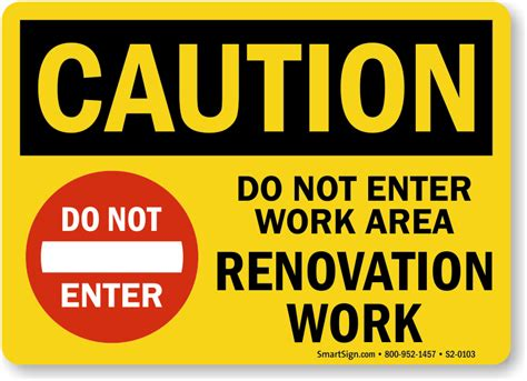 printable over the hill road signs renovation work area signs ships in a flash for free
