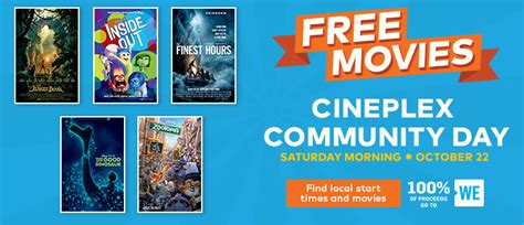 cineplex free movie day watch free family movies this saturday at cineplex