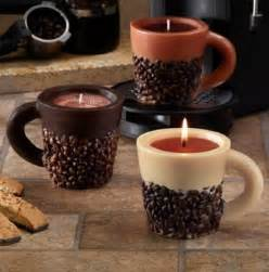 coffee bean candle scented coffee bean mug novelty candles