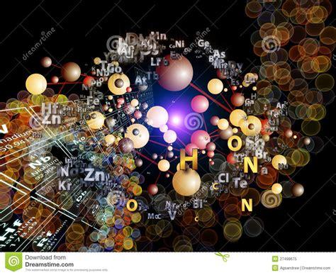 metano tavola periodica spiegamento degli elementi chimici illustrazione di stock