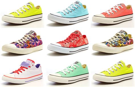 Converse All Colour by Converse All Chuck Dainty Trainers Pastels