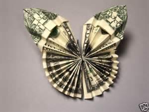 Money Origami Butterfly - hawaiian money dollar origami butterfly monetary gift ebay