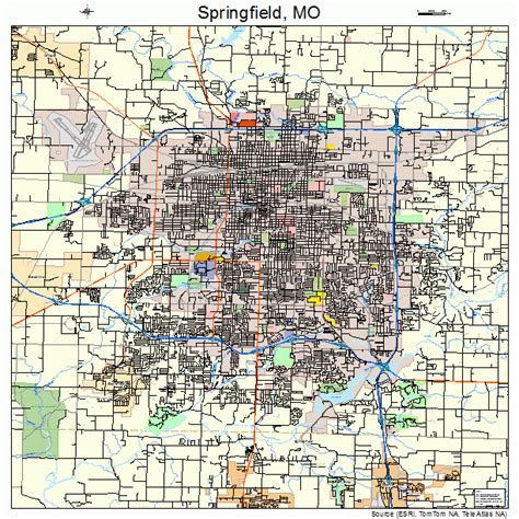 Search Springfield Mo 26 Popular Map Springfield Bnhspine