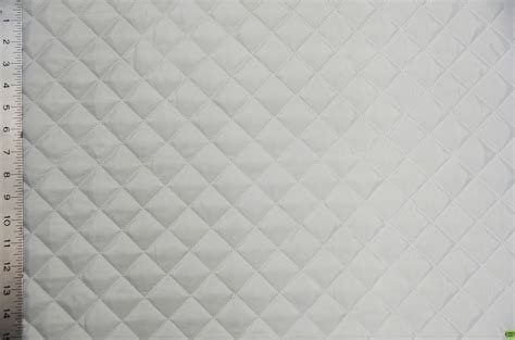 White Quilted Fabric by The Gallery For Gt Quilted Fabric