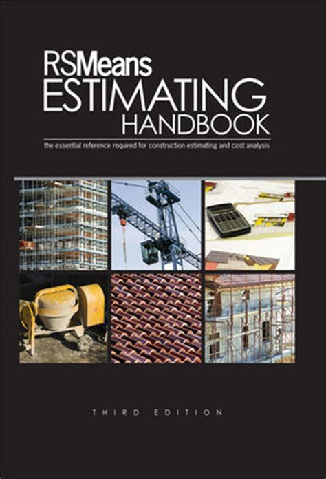 estimating in building construction 9th edition what s new in trades technology books wiley rsmeans estimating handbook 3rd edition rsmeans