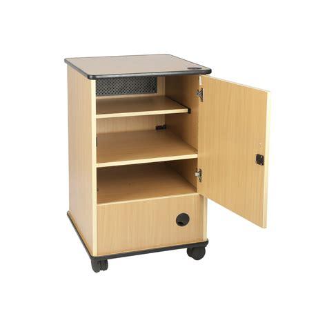 Av Cabinets With Doors Av Cabinet With Rear Inspection Door Presentation Systems Plc