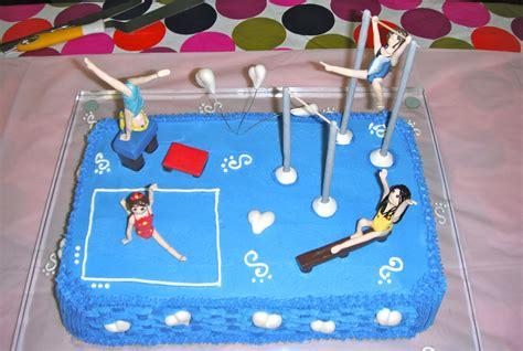 gymnastics cake decorations cake ideas and designs