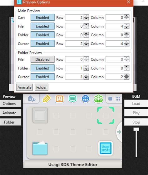 3ds theme editor mac release usagi 3ds theme editor net library