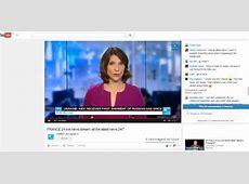 France 24 now live on YouTube France News 24 Live