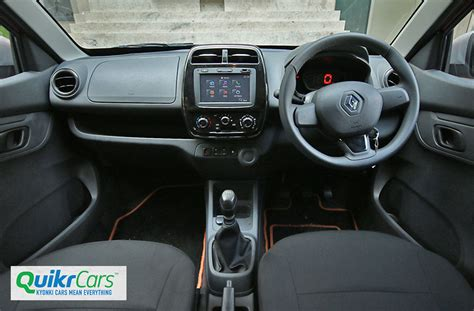 renault kwid interior seat renault kwid 1 0 litre review test drive