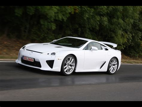 lexus lfa white wallpaper 2012 lexus lfa white front and side speed 1280x960