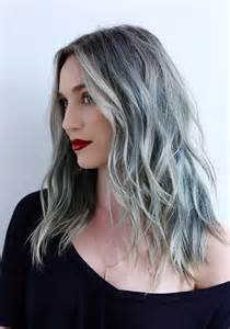 hair designs with grey streaks blonde highlights 2016 dark brown hairs