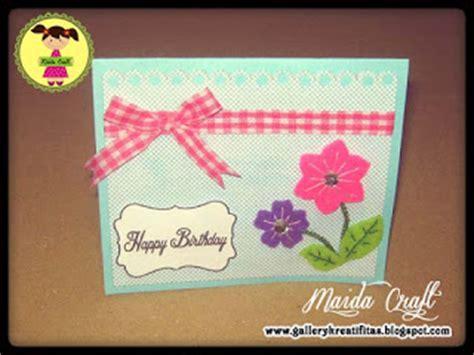 cara membuat kartu ucapan ulang tahun sederhana kartu ucapan ultah untuk sahabat gallery kreatifitas