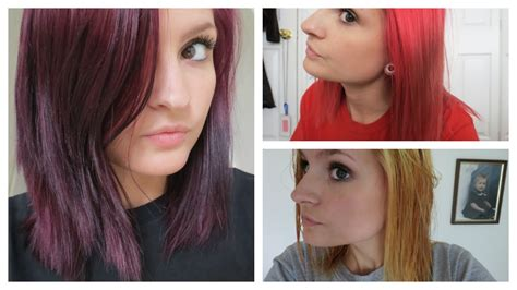 london lilac on black hair how i went from bright red to purple hair color oops