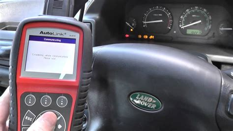 autel al619 read clear land rover abs codes without issue