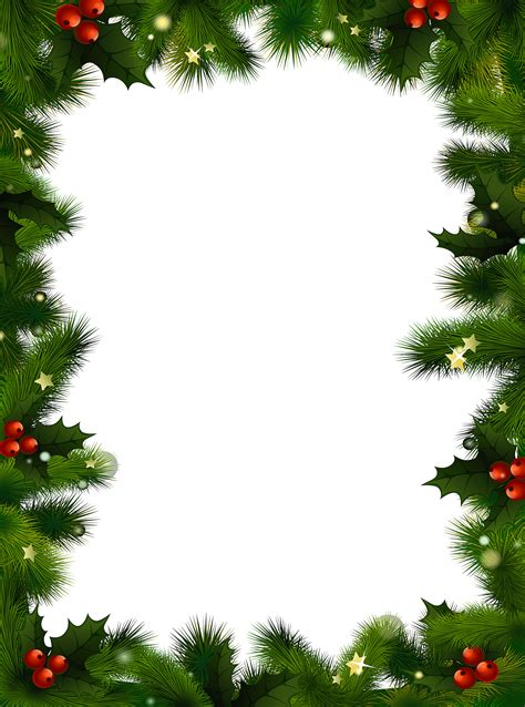 christmas clipart borders word cliparts