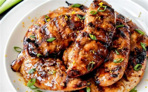 12 new recipes for marinated grilled chicken