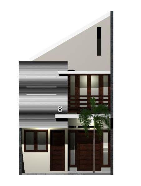 desain atap rumah panjang ke belakang desain rumah asri di lahan 60 m2 eramuslim