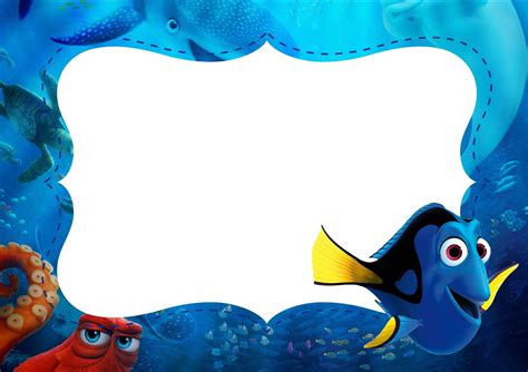 Finding For Free Finding Dory Free Printable Invitations Is It For Is It Free Is It
