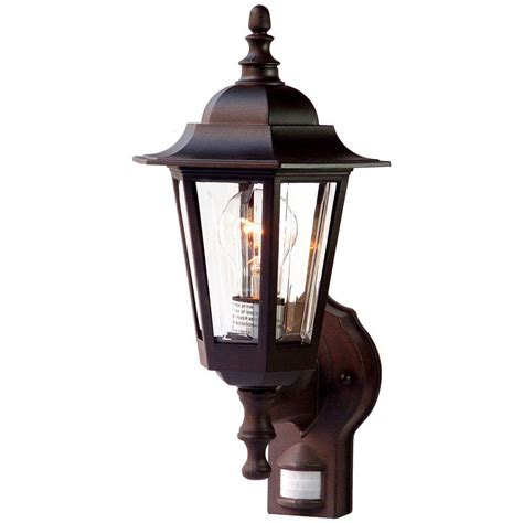 home depot exterior light fixtures acclaim lighting tidewater collection wall mount 1 light outdoor architectural bronze light