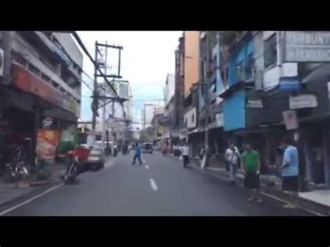 manila red light district sin city manila s red light district by day youtube