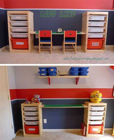 Lego Desk Organizer Lego Storage Ideas The Ultimate Lego Organisation Guide