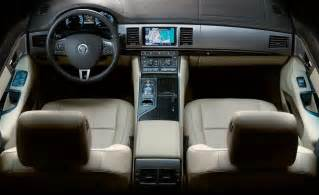 2010 Jaguar Xf Interior Car And Driver