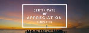 awesome certificate templates get an awesome certificate of appreciation template free