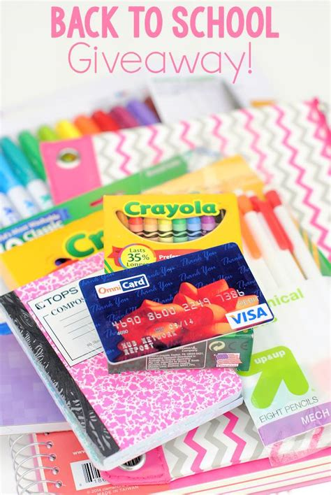 Lucky Shops Giveaway by 200 Back To School Supplies Giveaway Yellow