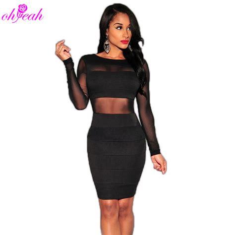 Dresslong Dress Cerry Black Diskon get cheap mesh club dress aliexpress alibaba