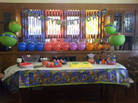 tmnt decorations baby shower ideas tmnt