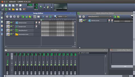 tutorial linux multimedia studio free cross platform linux multimedia studio lmms linux