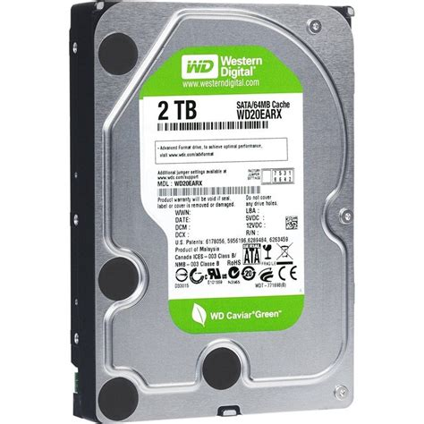 Harddisk Wd 2tb western digital 2tb green hdd for 100