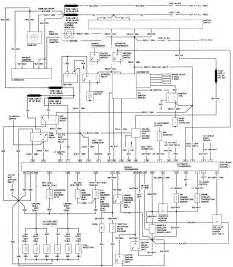 1984 bronco ii wiring diagram 1984 get free image about