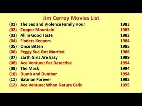 jim carrey best list jim carrey