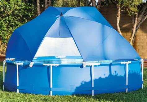 swimming pool awnings intex 174 pool canopy for above ground metal and ultra frame swimming pools