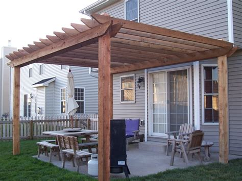 half deck house designs pergola plans attached to house