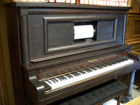 player piano shop used pianos
