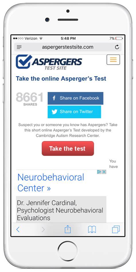 asperger test aspergers test app review touch autismtouch autism