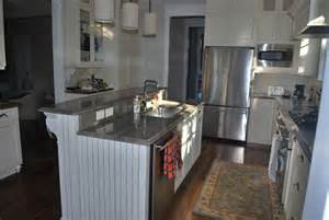 pictures of kitchen islands with sinks raised kitchen