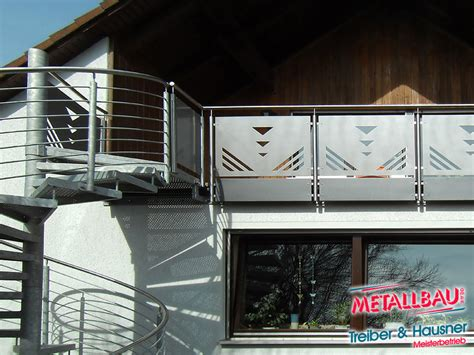 Balkongeländer Mit Treppe by Balkon Mit Treppe Edelstahl Edelstahl Gartengel Nder