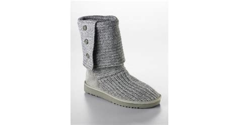 Cardy Denim Outwear 0125 Qkv ugg cardy knit flat boots in gray lyst