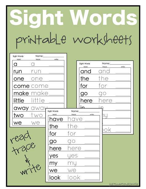 Sight Words Worksheets by Color Words Kindergarten Happy Memorial Day 2014