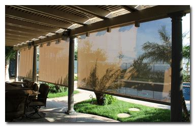 rolling shade awnings awnings patio covers retractable awnings roller shades