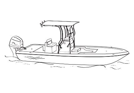 seavee boat drawing center console boat covers center console covers