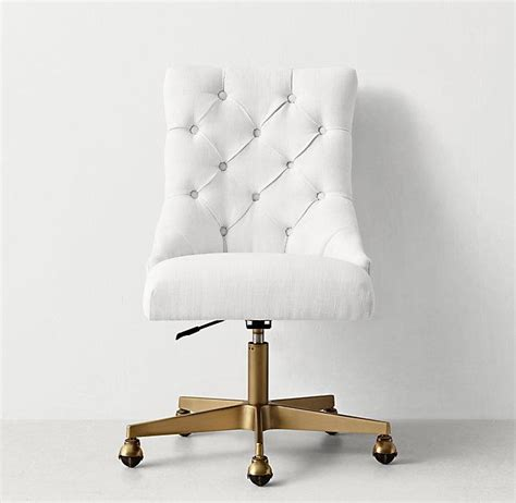 tufted swivel desk chair tufted desk chair chairs seating